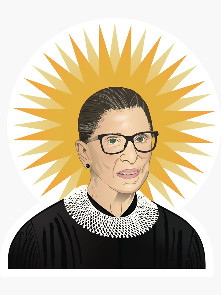 The Glorious RBG by fuzzygrapefruit