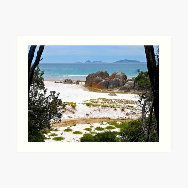 Squeaky Beach, Wilsons Promontory, Victoria. Art Print