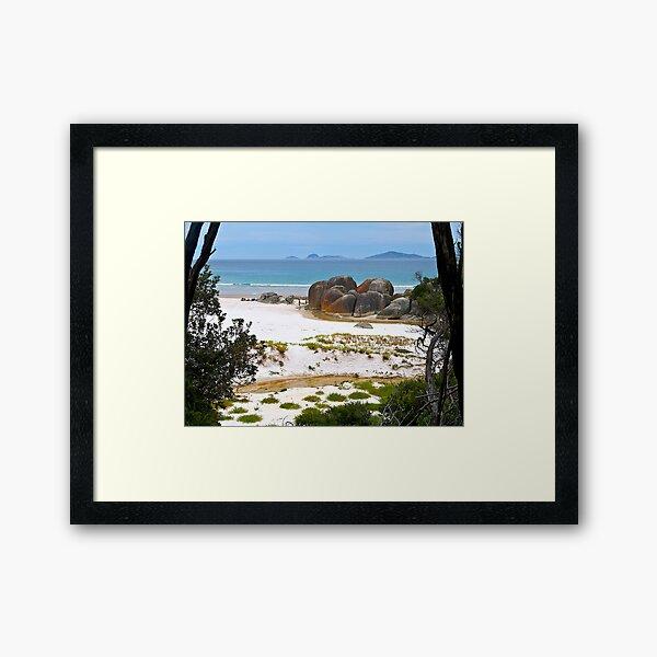 Squeaky Beach, Wilsons Promontory, Victoria. Framed Art Print