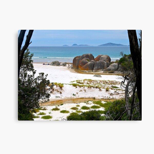Squeaky Beach, Wilsons Promontory, Victoria. Canvas Print
