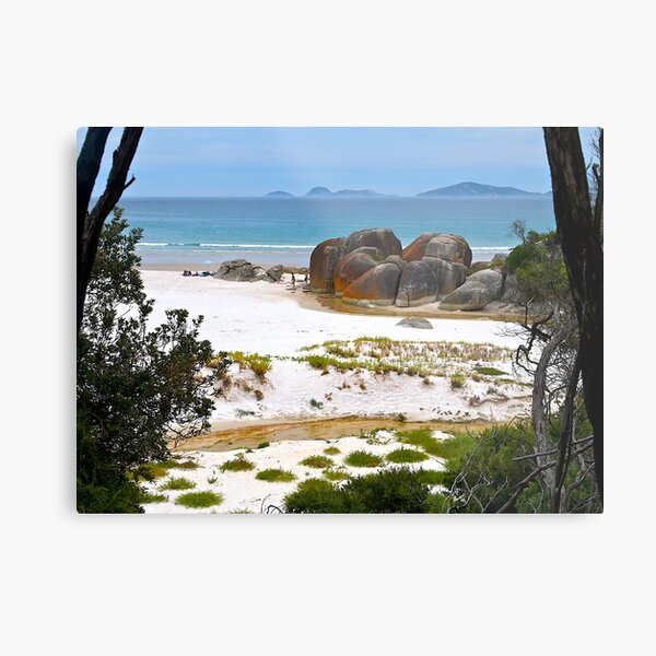 Squeaky Beach, Wilsons Promontory, Victoria. Metal Print
