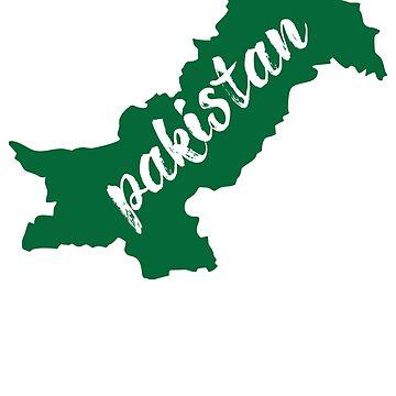 Pakistan Map by kamrankhan