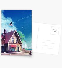 Delivery Service Postcards