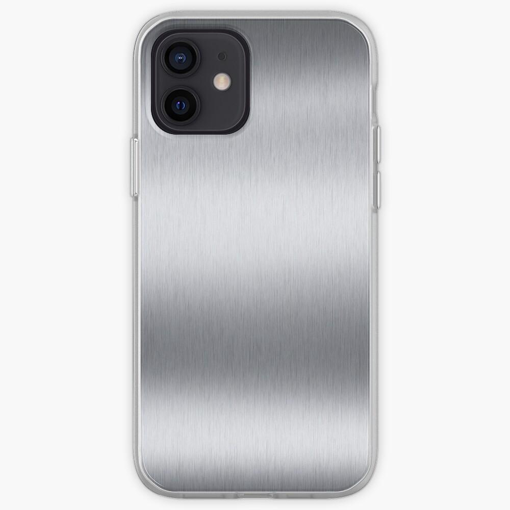 Stainless steel, metal, texture, #Stainless, #steel, #metal, #texture, #StainlessSteel  iPhone Case & Cover