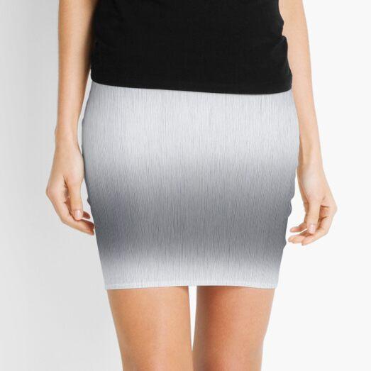 Stainless steel, metal, texture, #Stainless, #steel, #metal, #texture, #StainlessSteel  Mini Skirt
