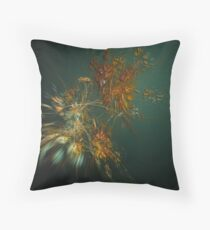 Blowing Leaves Throw Pillow