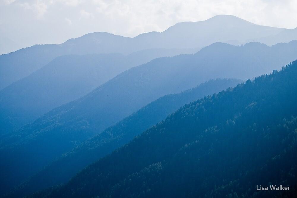 Austrian Alps by Lisa Walker