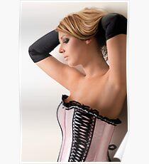 Pink Corset Poster
