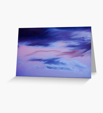 Painted Skies Greeting Card