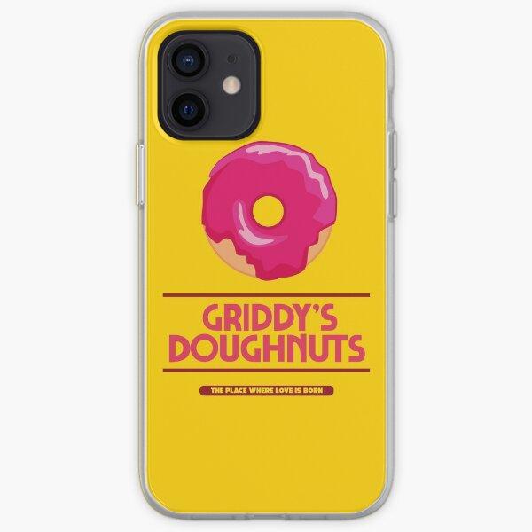 UMBRELLA ACADEMY: GRIDDYS DOUGHNUTS Funda blanda para iPhone