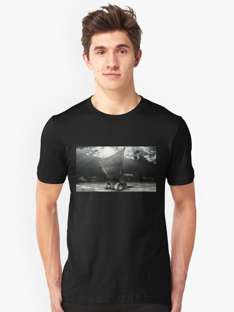 H3oVintage_SailDow1  ::  h3oconceptz.com Unisex T-Shirt Front