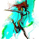 The Girl Goes Dancing There by Beau Singer
