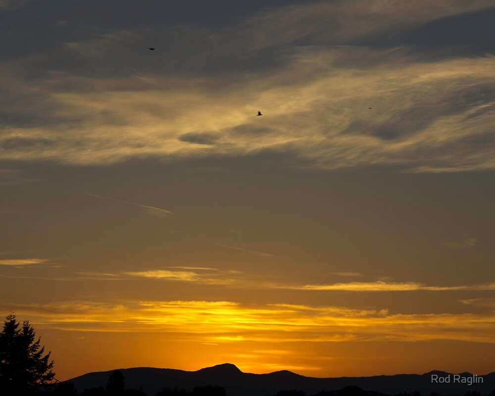 Summer solstice sunset - 8 by Rod Raglin