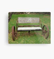 Wagon Seat Metal Print