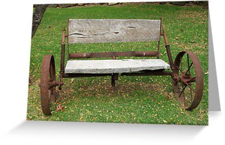 Wagon Seat by ScenerybyDesign