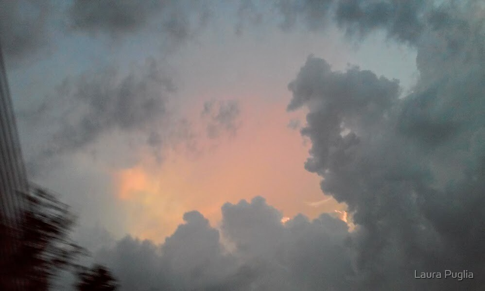 Storm Clouds by Laura Puglia