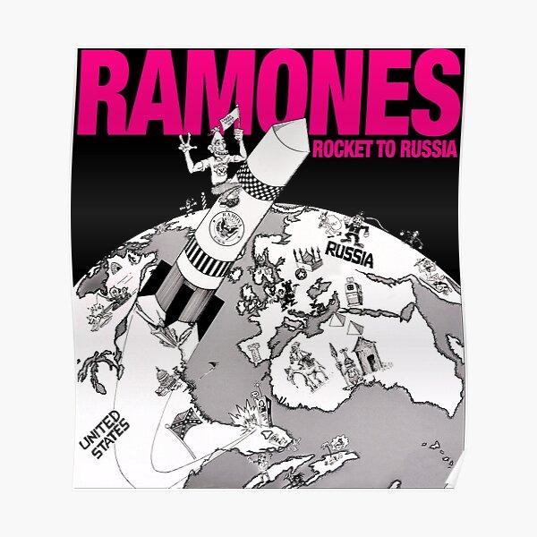 Ramones - Rocket To Russia Poster