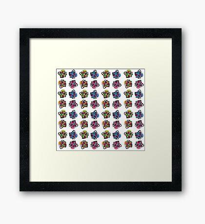 giggle pots Framed Print