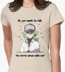 N Harmonia wants to take you for a ride Womens Fitted T-Shirt