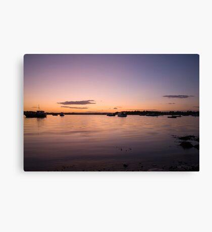 Purple dusk Canvas Print
