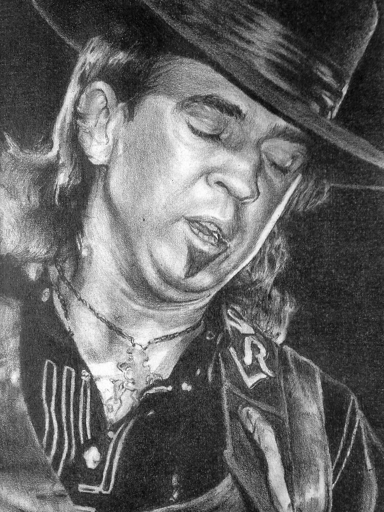Stevie Ray Vaughan SRV by seizethejay