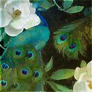 Aqua Peacock II by mindydidit