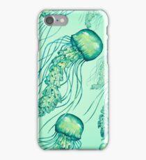 - Watercolor Jellyfish pattern - iPhone Case/Skin