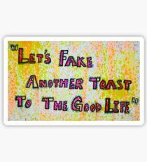 Thin Line  Sticker