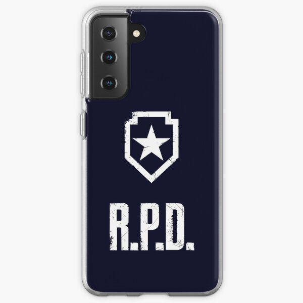 RESIDENT EVIL R.P.D. shield Samsung Galaxy Soft Case
