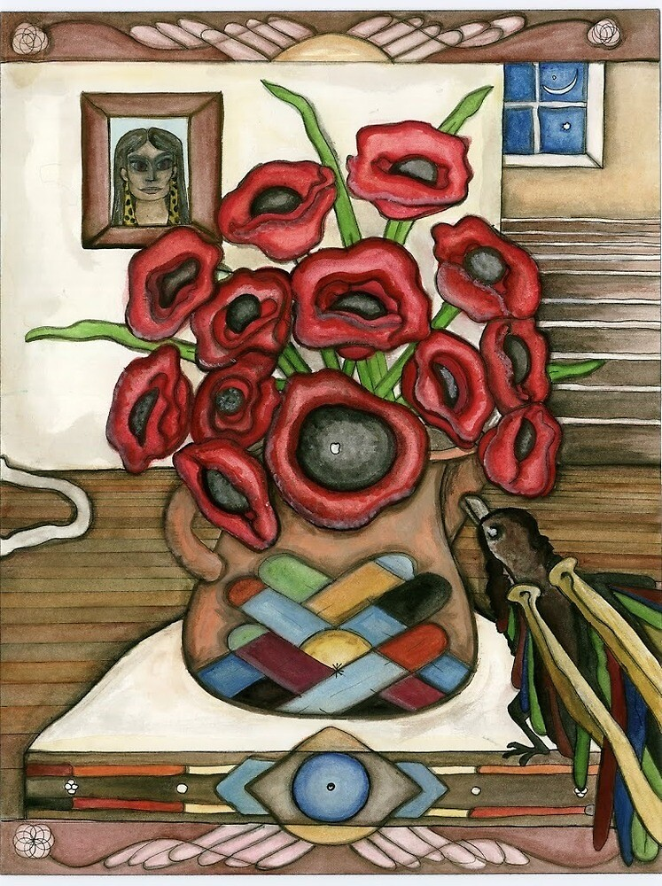 Poppy Raven by Courtni Hale