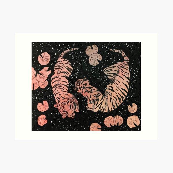 Love and fear Art Print