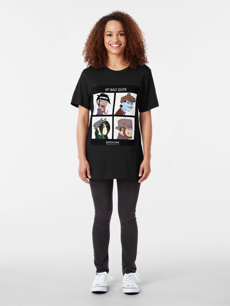 Alternative Ansicht von Kopie von KP Bad Guys No. 2 Slim Fit T-Shirt