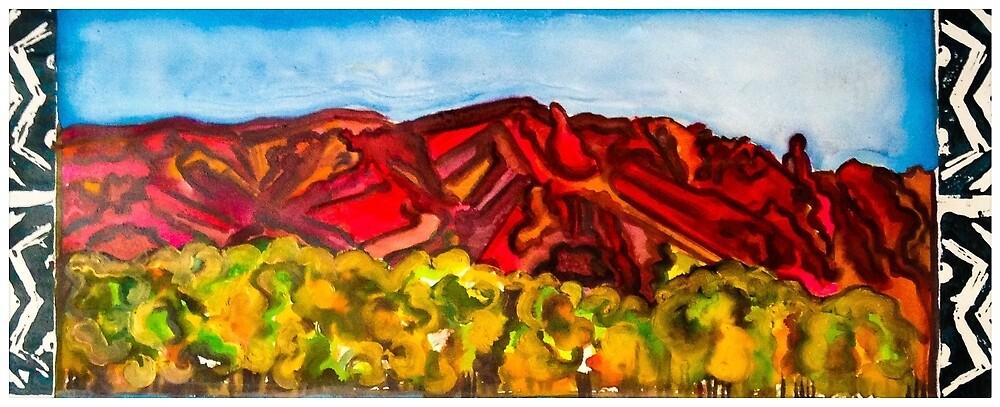Sandia Sunset by Courtni Hale