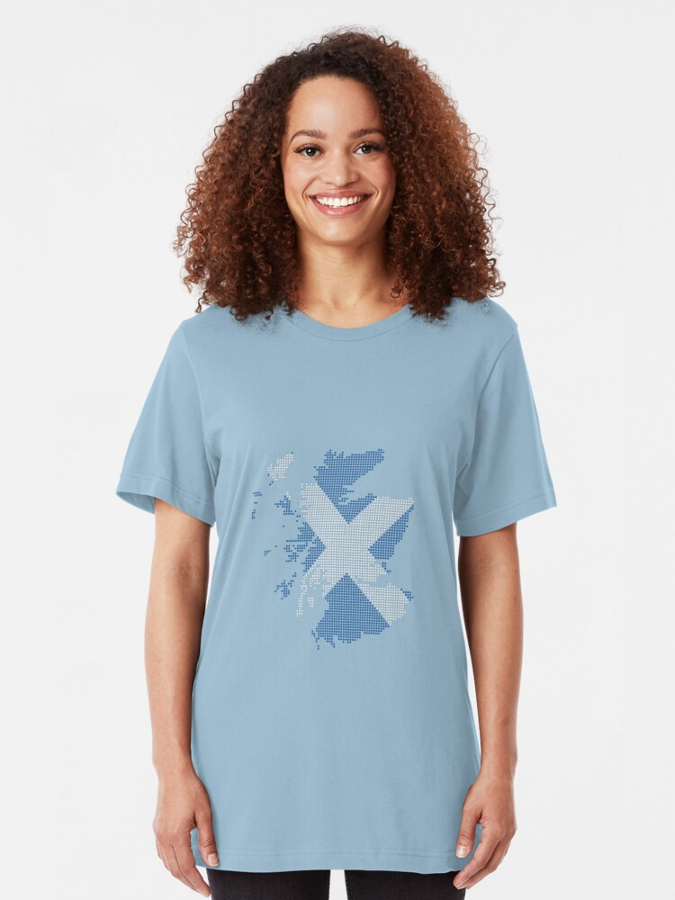 Alternate view of Scotland Slim Fit T-Shirt