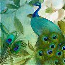 Aqua Peacock III by mindydidit