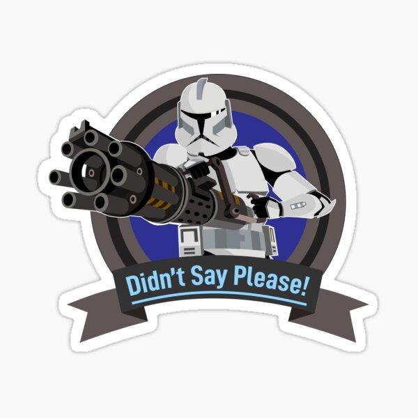Hevy-Clone of the Republic Sticker