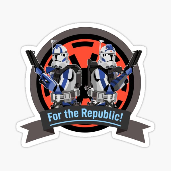 ARC Troopers Fives and Echo Sticker