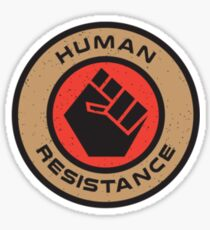 Human Resistance Sticker