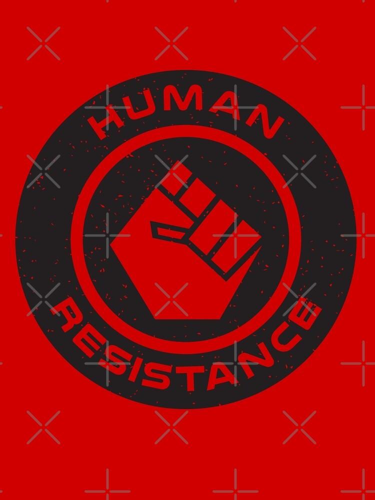 Human Resistance All Black by marslegarde
