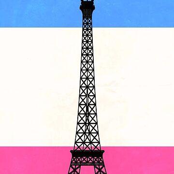 paris w bandera francesa de lolosenese