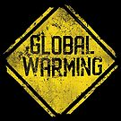 Warnzeichen: globale Erwärmung von Beka Designs
