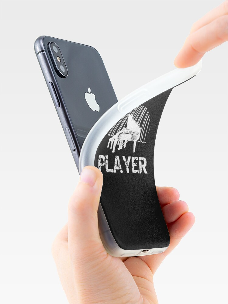 Alternate view of Piano Player Funny Pianist Gift iPhone Case & Cover