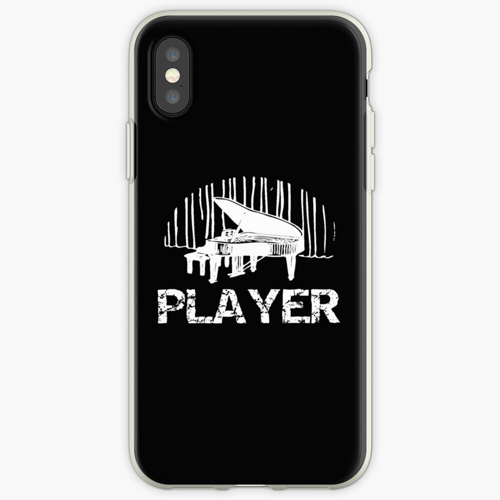 Piano Player Funny Pianist Gift iPhone Case & Cover