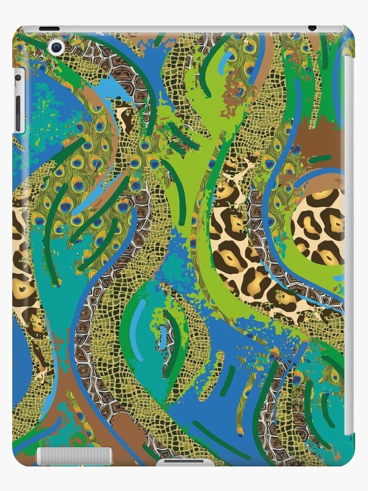 """Muster - Pattern """"Dschungel"""" von WACHtraum"""