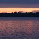 Cold Water Sunset by JimSanders