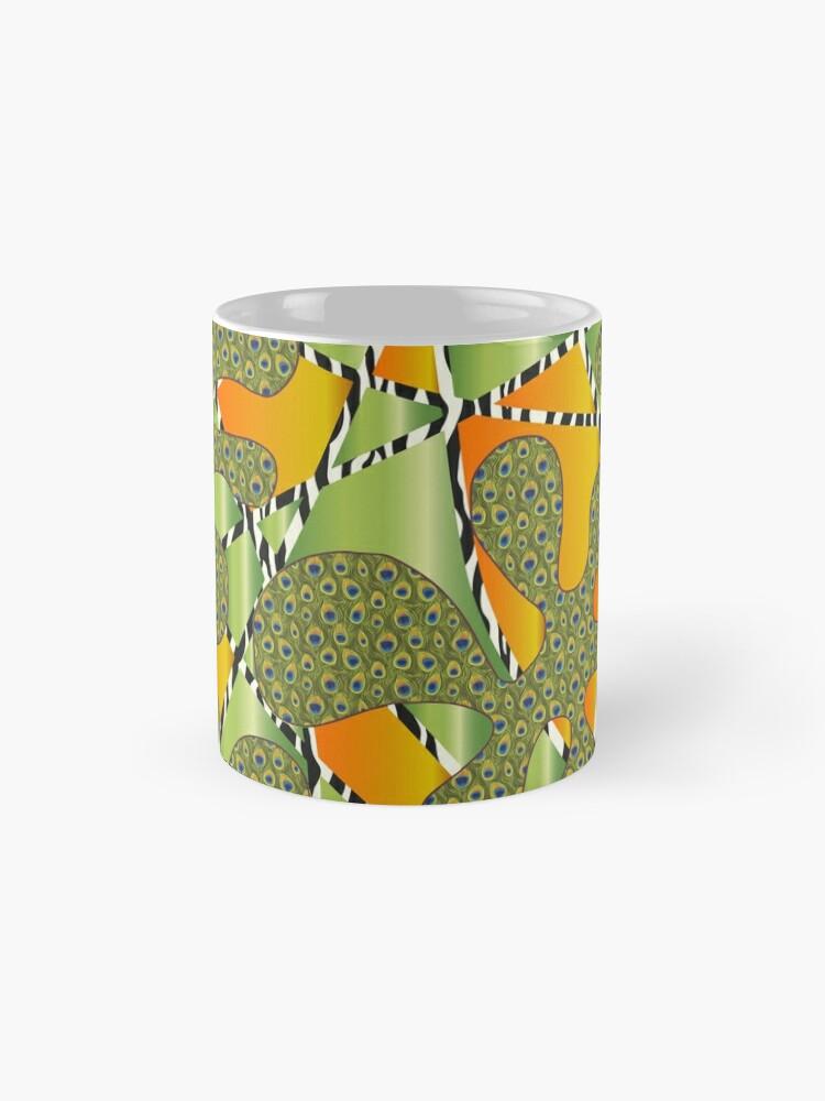"""Alternative Ansicht von Muster - Pattern """"Amöben"""" Tasse"""