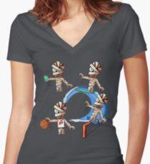 Mummies! Women's Fitted V-Neck T-Shirt