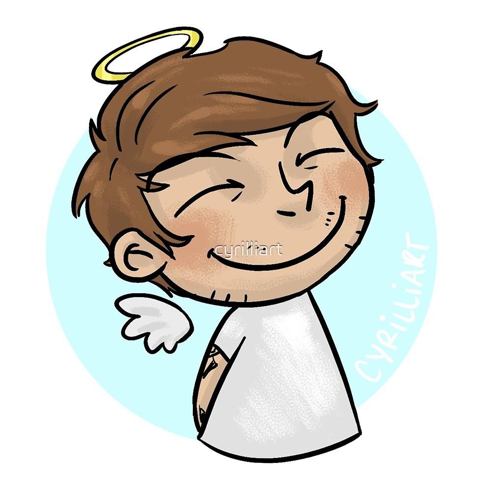 Emoji Angel - Louis by cyrilliart