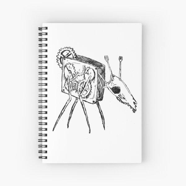 Wind-up Deer Spiral Notebook