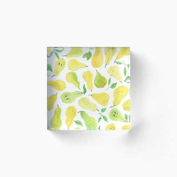 Pears Acrylic Block